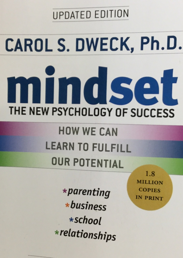 Book Mindset: The new psychology of success.