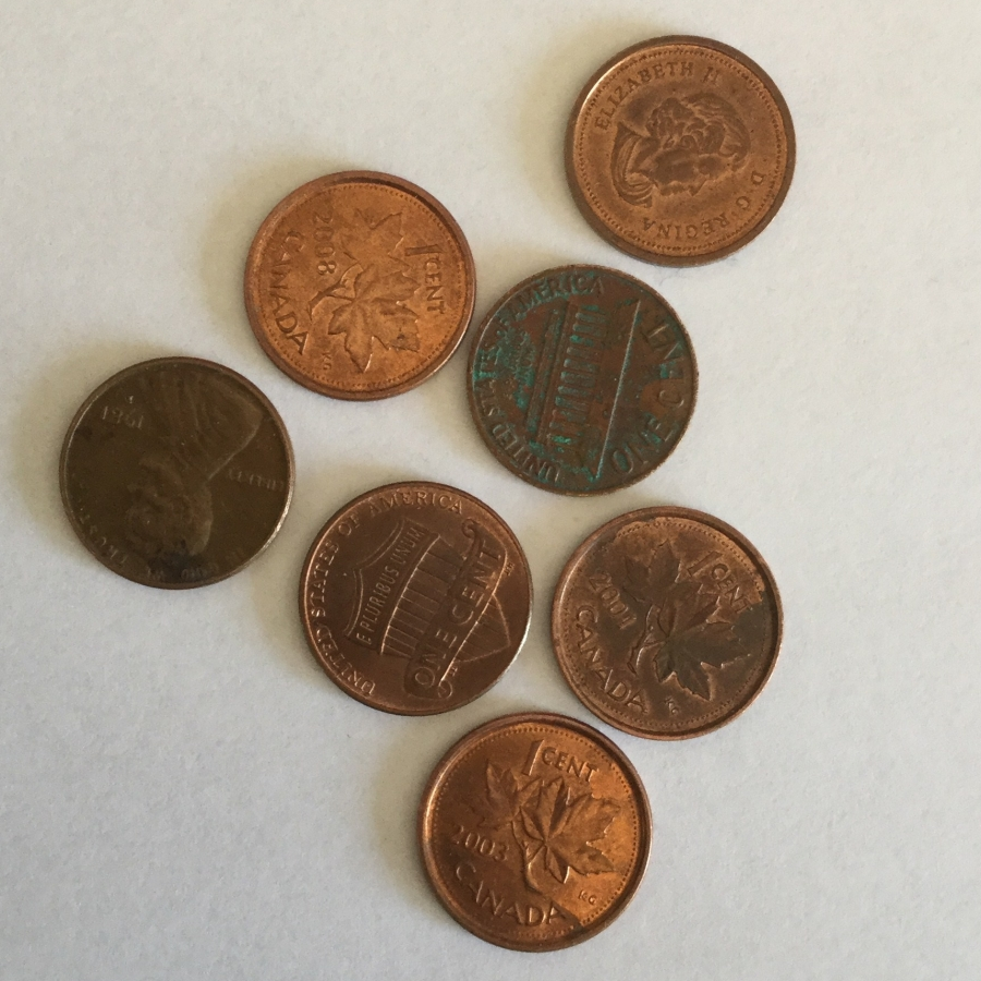 My son's seven pennies